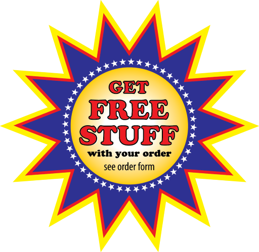 Get Free Stuff With Your Order